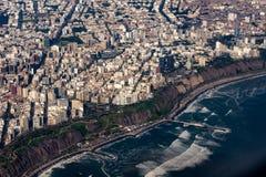 Lima es una ciudad interesante imagen de archivo