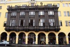Lima historic Royalty Free Stock Photo