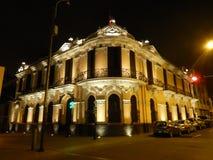 Lima im Stadtzentrum gelegen Stockfotografie
