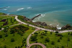 lima miraflores parkowy Peru widok Zdjęcia Stock
