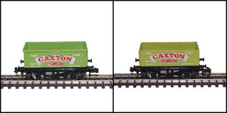 Lima N Gauge Model Railway Wagons, Caxton Stock Images
