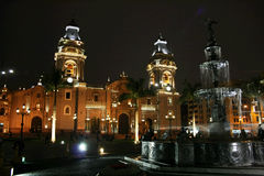 Lima by night Stock Photos