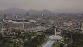 Lima Peru Aerial stock video footage