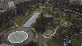 Lima Peru Aerial stock footage
