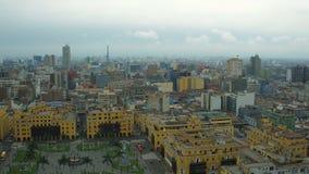 Lima Peru Aerial vídeos de arquivo
