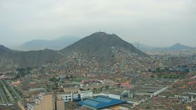 Lima Peru Aerial banque de vidéos