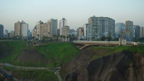 Lima Peru Aerial stock video