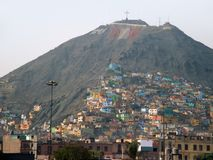 Lima in Peru. Capital city of Peru named Lima (South America royalty free stock images