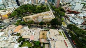 Lima, Peru de cima de imagem de stock royalty free