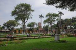 Lima, Peru 1. Januar 2014: Ansicht des Barranco-Stadtmunicipal Stockbild