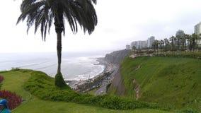 Lima Peru klippor arkivfoton