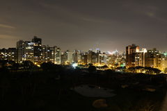 Lima, peru. A night view from the capital of peru, lima stock images