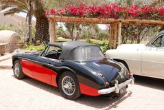 Convertible Austin Healey 3000 Mk III in Lima Royalty Free Stock Photography