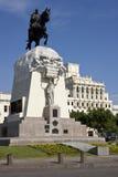 Lima - Plaza de San Martin - Peru imagens de stock