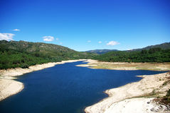 Lima river, Portugal Royalty Free Stock Photo