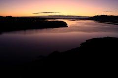 Lima River,  Viana do Castelo, Portugal Stock Photography