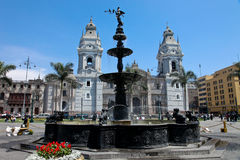 Lima, Stad Stock Afbeelding