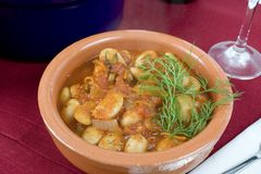 Lima Stew Royalty Free Stock Image