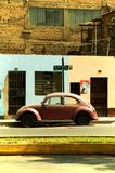 Lima Street Car Arkivfoto