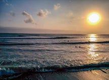 Lima Surfers fotografie stock libere da diritti