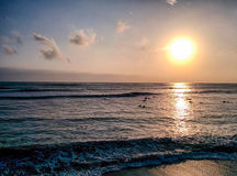 Lima Surfers fotografie stock