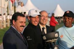 Lima Vilamoura filiżanek 2005 golf świat Zdjęcie Royalty Free