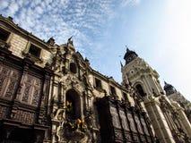Lima vykort Arkivfoto