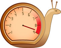 ślimaczka tacherometer Fotografia Stock