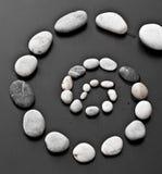 ślimakowaci kamienie Zdjęcie Royalty Free