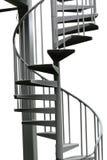 ślimakowaci metali schodki Obrazy Royalty Free