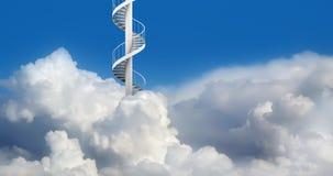 ślimakowaci niebo schodki Obraz Royalty Free
