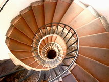 ślimakowaci schody obrazy stock