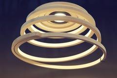 Ślimakowata lampa Zdjęcia Royalty Free
