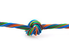 ślimakowaty drut Obraz Stock