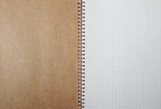 Ślimakowaty kreskowy notatnik Zdjęcie Royalty Free
