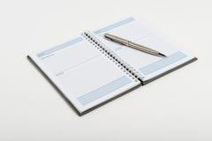 Ślimakowaty notatnik Zdjęcie Stock