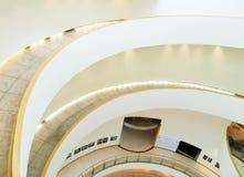 Ślimakowaty schody Zdjęcia Stock