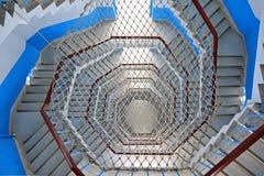 Ślimakowaty schody Fotografia Stock