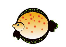 Limanda ryba Obraz Royalty Free