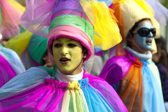 Limassol Carnaval Parade, 14 Februari, 2010 Royalty-vrije Stock Afbeelding