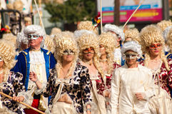 Limassol Carnival, March 6, 2011 Royalty Free Stock Images