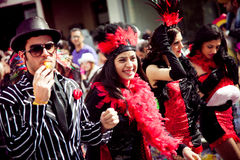Limassol Carnival Parade in Cyprus Royalty Free Stock Photo