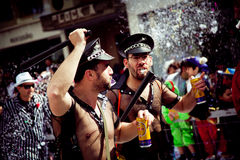 Limassol Carnival Parade in Cyprus Stock Images