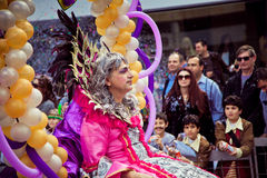 Limassol Carnival Parade in Cyprus Royalty Free Stock Photography
