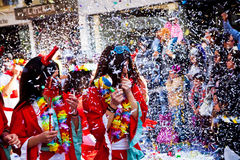 Limassol Carnival Parade in Cyprus Stock Photo