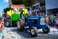Limassol Carnival Parade in Cyprus Stock Photography
