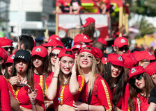 Limassol Carnival Parade Cyprus 2016 Royalty Free Stock Photography