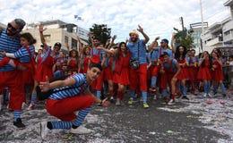 Limassol Carnival Parade Cyprus Stock Photo