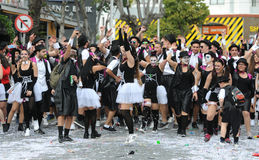Limassol Carnival Parade Cyprus 2016 Royalty Free Stock Images