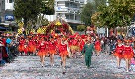 Limassol Carnival Parade Cyprus 2016 Stock Photos